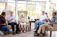 Fountainview Manor Memory Care Assisted Living in Troy, Illinois
