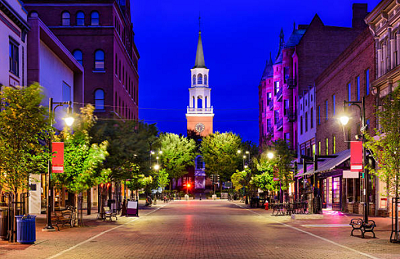 18 - Burlington, Vermont
