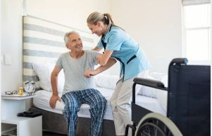 Aging in an assisted living facility